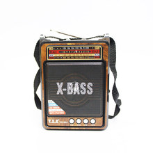 AM /FM /SW 3 Band Radio SD/USB MP3 Player Rechargeable LED Torch  Portable Universal Home High-quality Classical Radio
