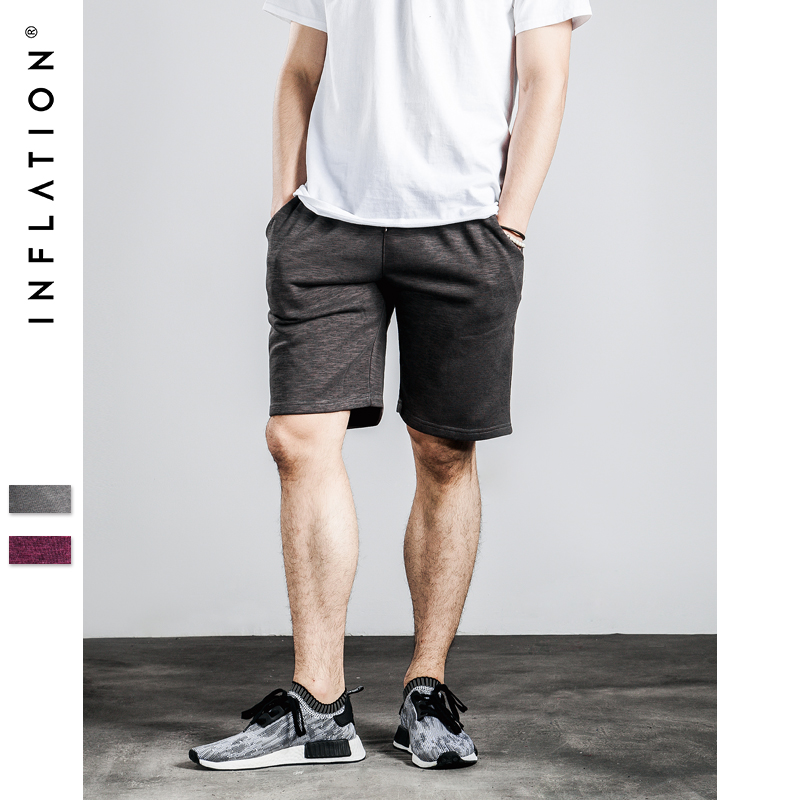 INFLATION | Sport Running Shorts 2016 New Arrival Surf Beach Basketball Shorts Men Gym Summer Style INFLATION M-2XL(China (Mainland))