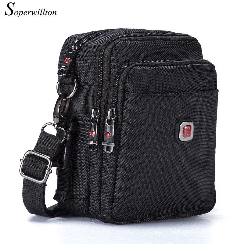 Soperwillton New Fashion 2016 Hot Sale Men's Bag Original Oxford 1680D Water-proof Zipper Bag Men Famous Brand Travel Bags #1052(China (Mainland))