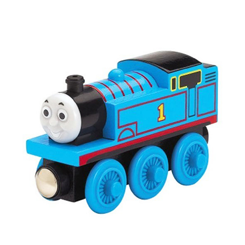 train thomas wooden toy thomas train Magnetic Wooden Model Train for baby kids children Kids thomas and friends toys(China (Mainland))