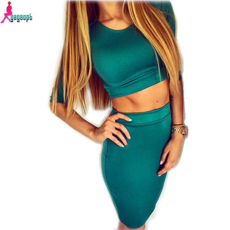 Gagaopt-2016-Summer-Autumn-Fashion-New-Arrival-Women-Suits-Sheath-Bodycon-Bandage-Crop-Top-and-Skirt
