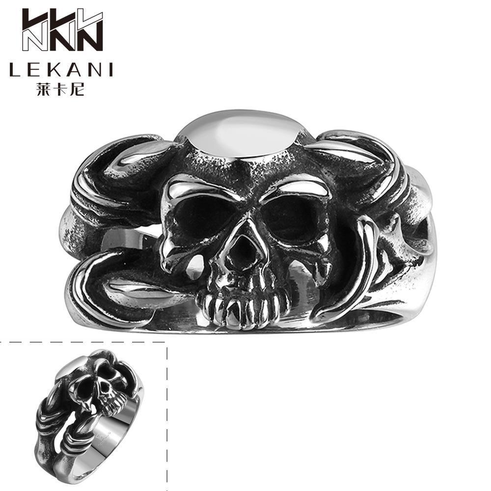 Stainless steel ornaments - Women S Jewelry R109 8 Stylish Wholesale Various Styles 316l Stainless Steel Punk Ring Female Ornaments