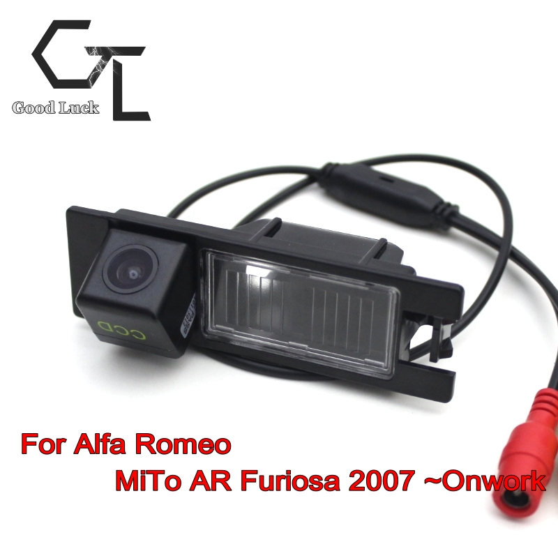 For Alfa Romeo MiTo AR Furiosa 2007 ~ Onwork Car Parking Camera Rear Camera HD CCD Night Vision wireless Car Reverse Camera(China (Mainland))