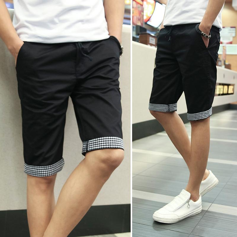 Skinny Fit Mens Shorts - The Else