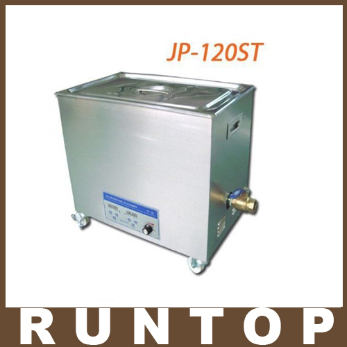 110V/220V JP-120ST 240-600W 38L Ultrasonic Cleaner Cleaning Equipment Stainless Steel Cleaning Machine Ultrasonic Bath(China (Mainland))
