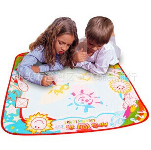 Free shipping Aqua Doodle Children's water drawing toys Mat Magic Pen AquaDoodle Educational Toy Baby learning & education Toy(China (Mainland))