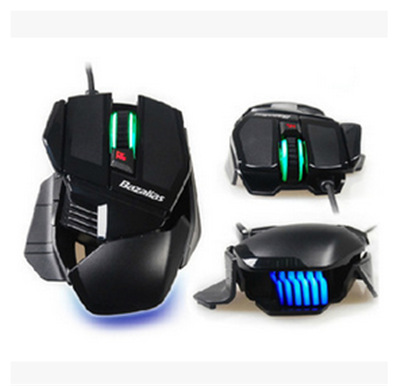 Original Brand 4000DPI 7 Buttons Optical USB Wired Gaming Mouse Blue LED Gamer for PC Laptop Computer(China (Mainland))