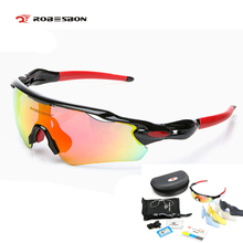 Buy ROBESBON 5 lens Cycling Sunglasses Radar men women windproof sports polarized Eyewear mountain Bicycle Glass Oculos Ciclismo for $20.87 in AliExpress store