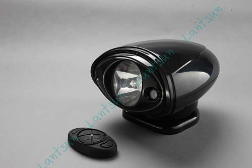 1 set 7 55w remote control HID search light  DC12V with magnet base fits offroad 4x4 auto boat suv truck