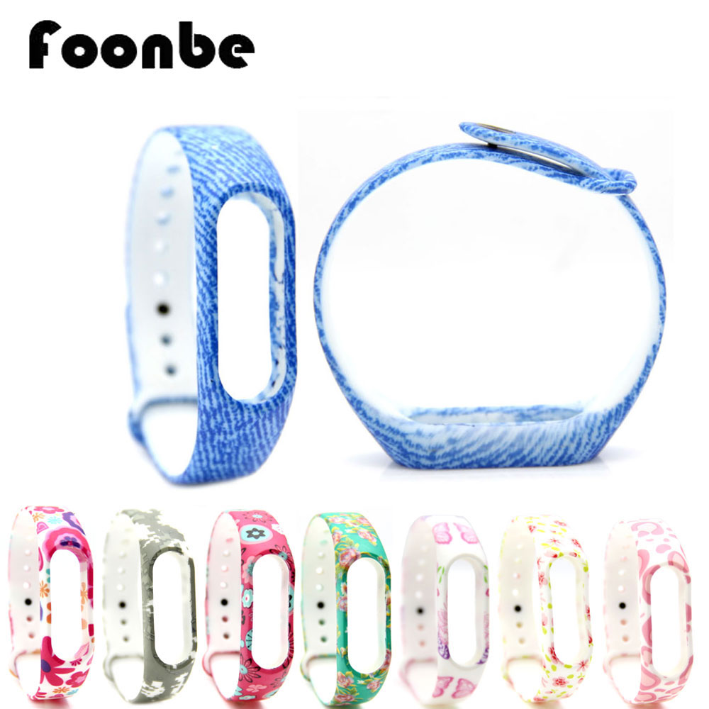 Silicone Replacement Band For Mi Band 2 For Xiaomi Smart Wristband Bra