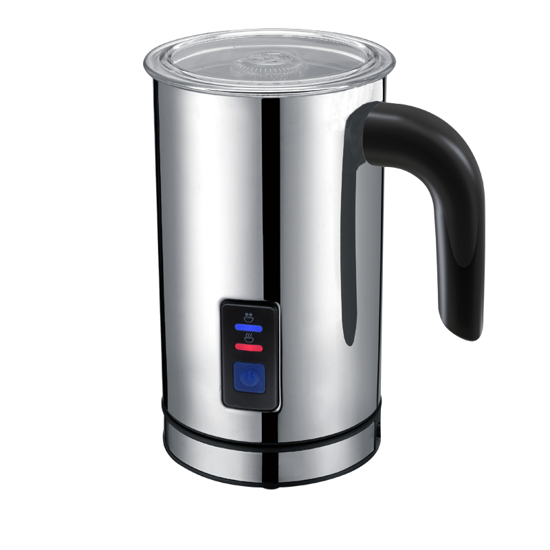 Stainless Steel Relectric Milk Frother for Coffee Cordless Factory Price Household / Home Appliances Black<br><br>Aliexpress