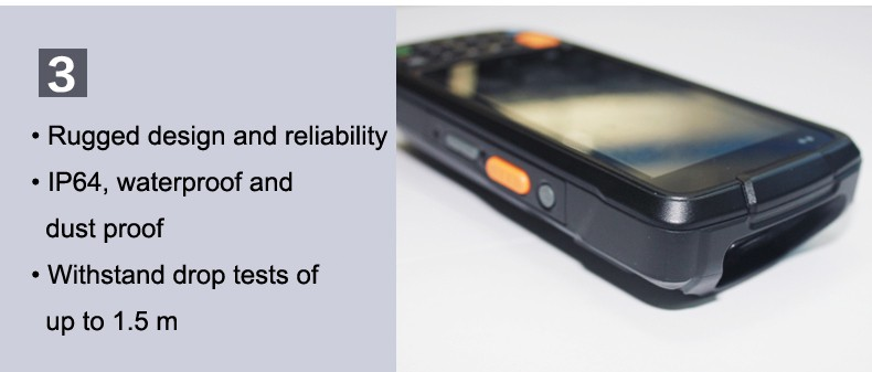 3G GPRS WIFI GPS Quad Core Laser Barcode scanner Bluetooth 4.0 Inch Big Screen Handheld Android i6200S Ultra rugged PDA 20