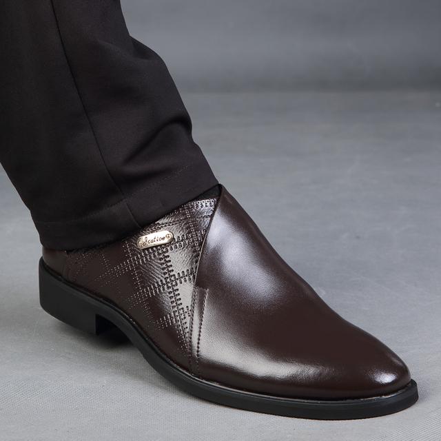 Dekesen размер 38 - 44 кожа мужчины туфли, Старинные офис обувь для парня, Мода мужчины ...