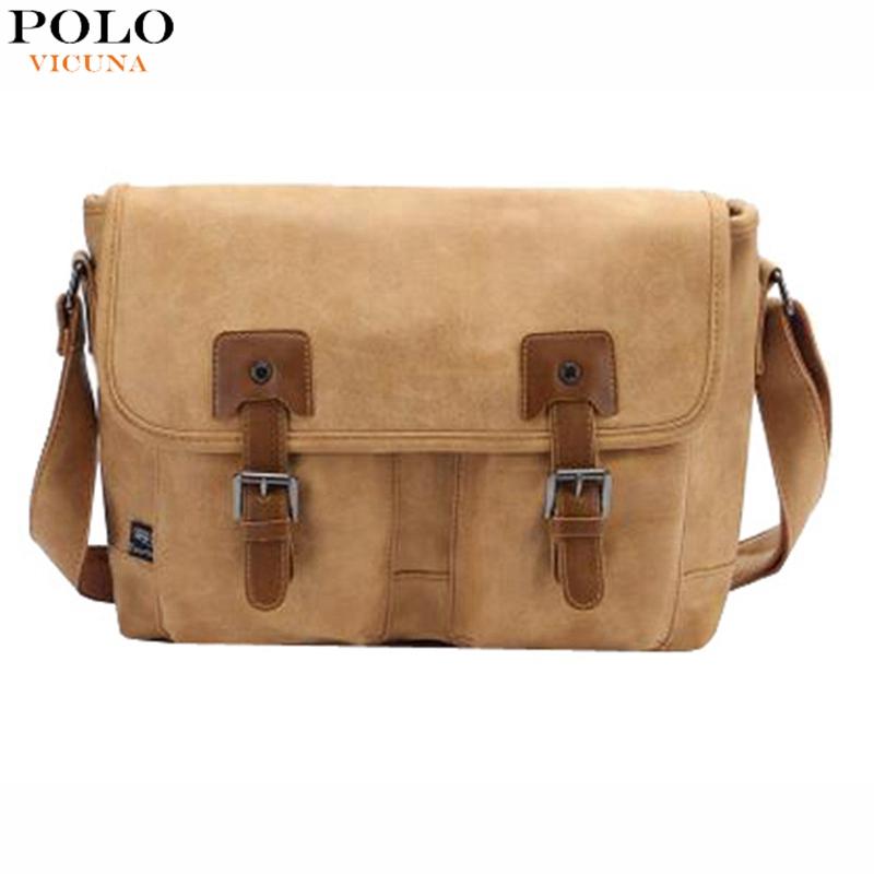 Three Color Vintage Fashion Nubuck Leather Mens Messenger Bag With Out Solid Pocket Casual Belt Decor Mens Travel Crossbody Bag<br><br>Aliexpress