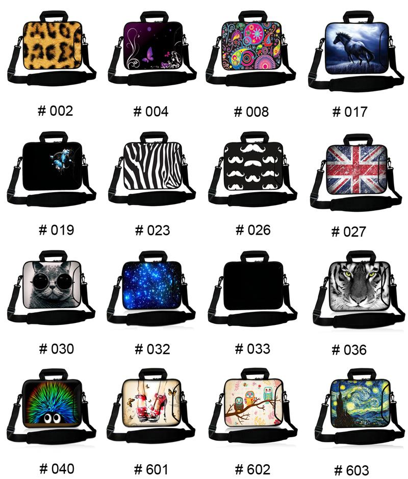 For Chuwi Samsung Galaxy HP Women Messenger Tablet Bags 10 10.2 10.1 9.7 inch Shoulder Strap Laptop Cases Fashion Neoprene Pouch