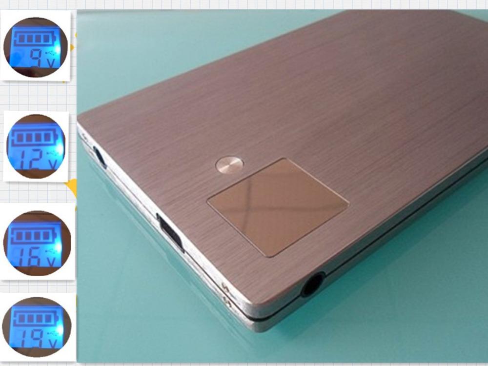 brand portable power bank 30000mah usb charging mobile notebook computer security, 18560 battery backup storage(China (Mainland))