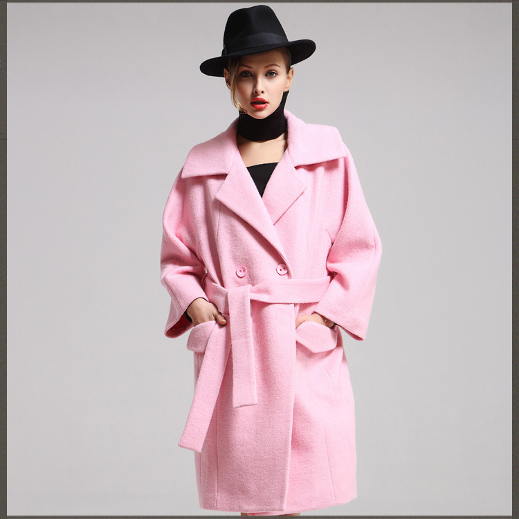 Pink Winter Coat Womens