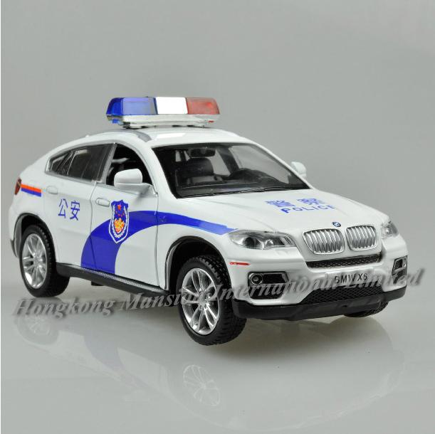 132 Police Car Model For BMW X6 (3)