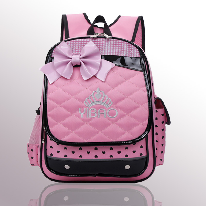 2014 Hot new girls schoolbag cute beatiful lovely fashion child bag flower backpack child cartoon kids quality student bags(China (Mainland))