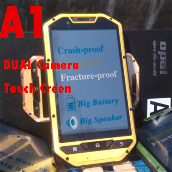 2015 New A1 TV cell phone Big speaker high Capacity battery 4 inch touch screen Dual SIM camera Russian keyboard H1 V5 V8 gifts(China (Mainland))
