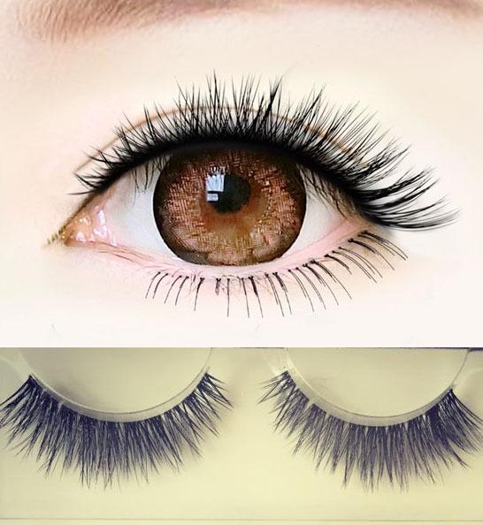 Sexy Eye Makeup Eye Lashes Natural crisscross 3D Fake eyelashes Demi wisperies nude party eyelashes false eyelashes extension(China (Mainland))