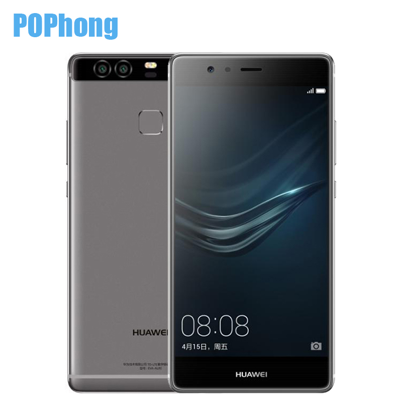 "Original Huawei P9 4G LTE Mobile Phone Kirin 955 3G RAM 32G ROM 5.2"" FHD 1080P Dual Back 12.0MP Camera Fingerprint ID(China (Mainland))"