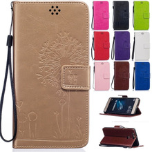Card Holder Leather Flip Wallet Case Cover Stand Floral Huawei Ascend P8 Lite P9 G8 Y625 / Honor 4C 5C 5X - China's store