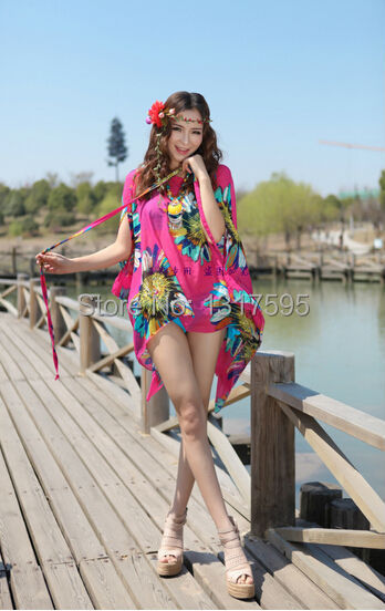 Free shipping new summer lovers sun protection clothing color beach thin clothes women 39 s beach - Protect clothes colors washing ...