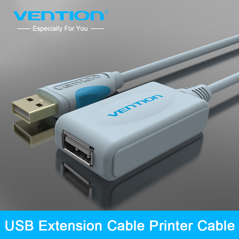 Vention New Arrival Extension Cable 10m 15FT USB 2.0 Type A Male to Type A Female Extension line(China (Mainland))