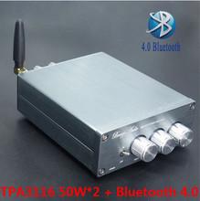 Buy BL10A DC12-25V 50W+50W TPA3116 Bluetooth CSR8630 4.0 Hifi Audio Digital Power Amplifier LM1036 tone for $35.08 in AliExpress store