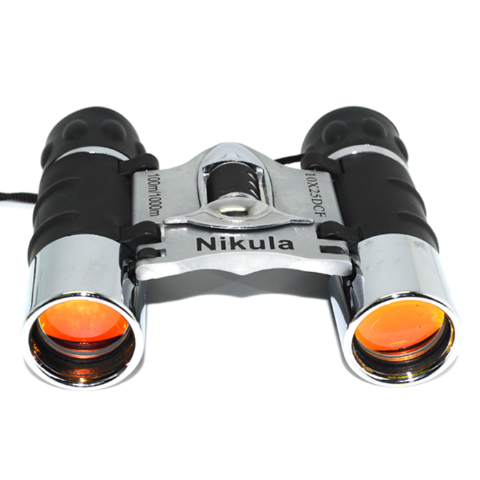 2013 Brand new Nikula Mini Pocket 10 x 25mm Folding Roof Prism Telescope Binoculars 100M/1000M - Concession Stand store