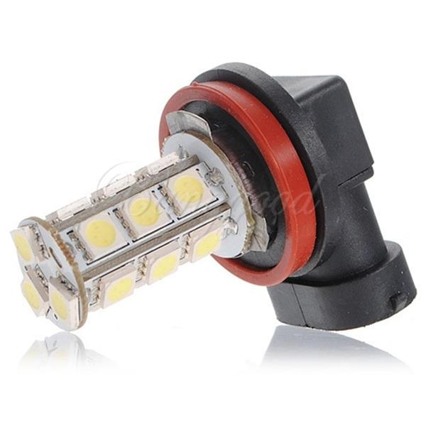 Гаджет  White H11 H8 18 LED 5050 SMD Car Auto Day Driving Fog Lights Headlight Lamp Bulb DC12V None Автомобили и Мотоциклы