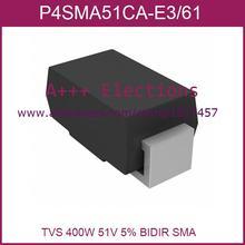 P4SMA51CA-E3/61 P4SMA51CA-E3 DO-214AC  50pcs Electronics