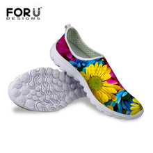 3D Flower Fashion Women Casual Mesh Shoes Summer Outdoor Walking Trainer Women Shoes Fitness Female Zapatos For Sport Breathable