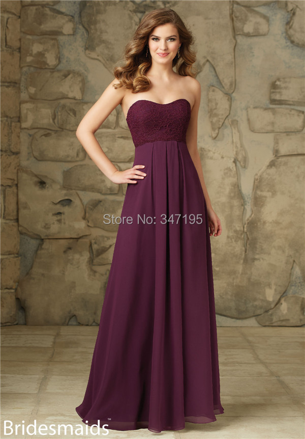 Wine colored bridesmaid dress for Wine colored wedding dresses