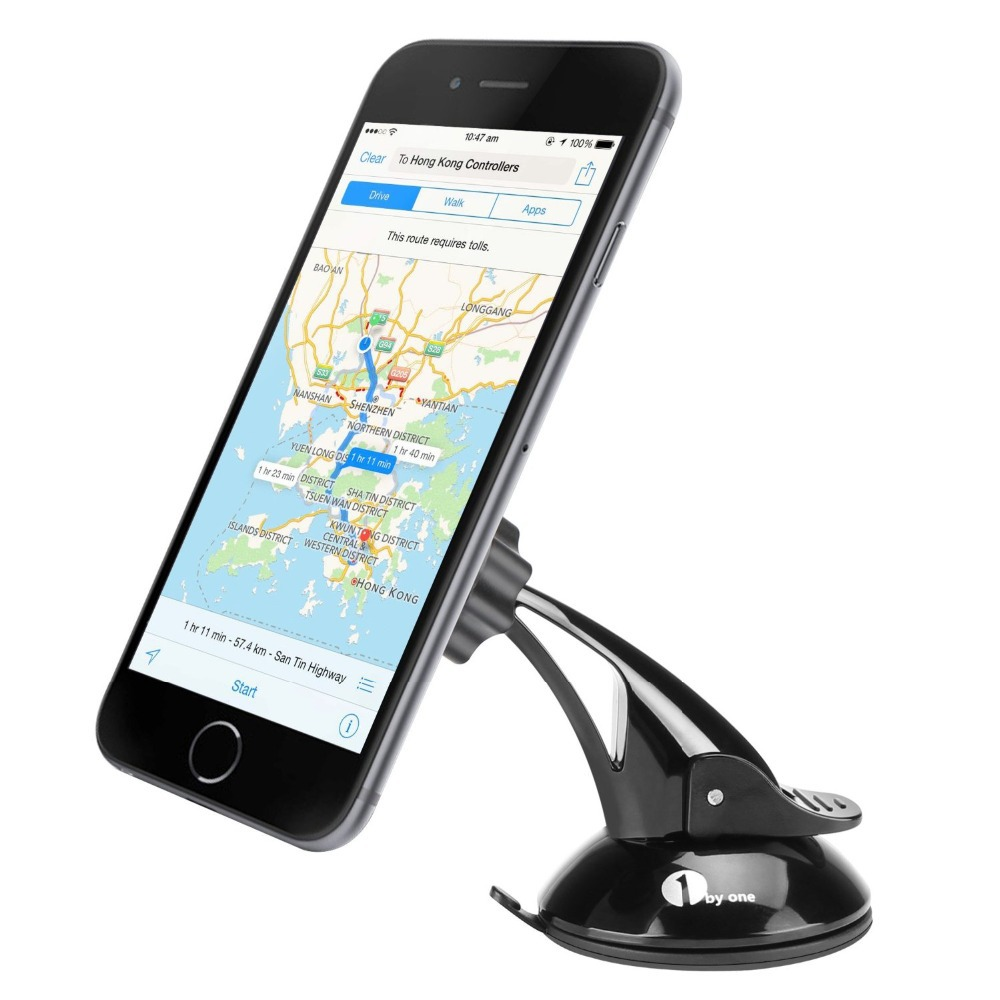 Universal Windshield car phone holder cd black color GPS holder US local domestic delivery retail and whole sale(China (Mainland))