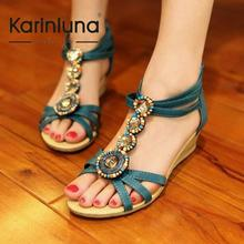 fashion rome vintage women SHOES summer sandals open toe wedge slippers 2013 new arrivial     SA111