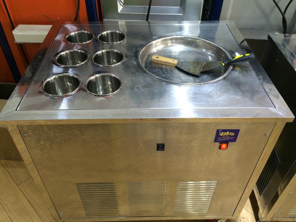 Hot sale flat pan fry ice cream machine(China (Mainland))