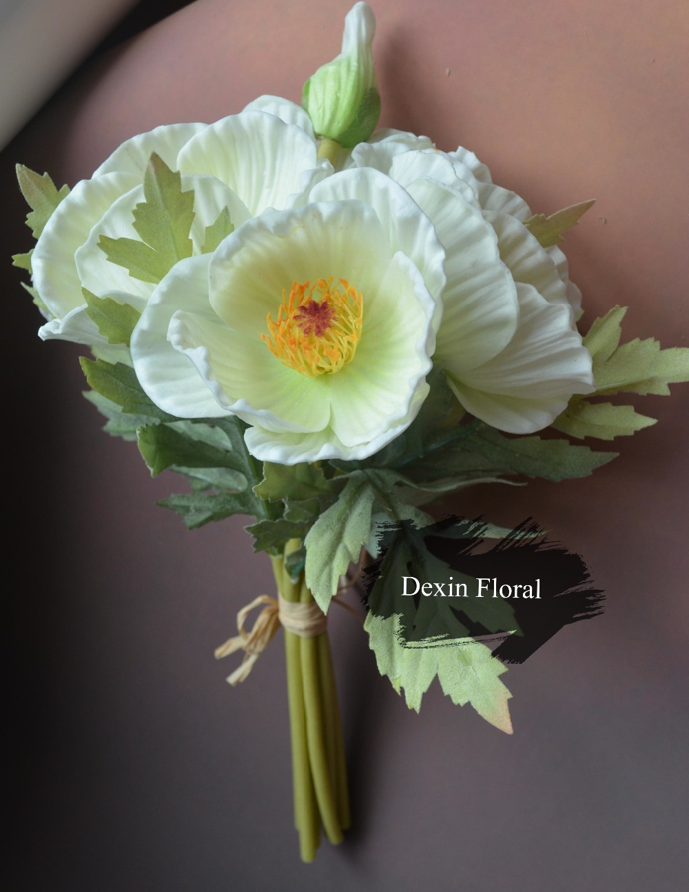 Buy Real Touch Flowers Poppy Bridal