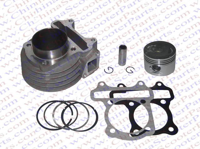 Performance 44MM Cylinder Piston Ring Gasket Kit font b GY6 b font 60CC Jonway Jmstar Yiying
