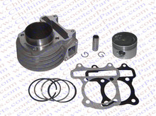 Performance 44MM Cylinder Piston Ring Gasket Kit GY6 60CC Jonway Jmstar Yiying Wangye Baotian Sunny Keeway Scooter Parts