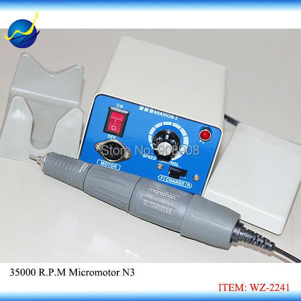 Korea SAEYANG Dental Labortary, Jewelry & Industry 35000 rpm Marathon-N3 Micromotor polishing Polisher + SDE-H37L1 Handpiece(China (Mainland))