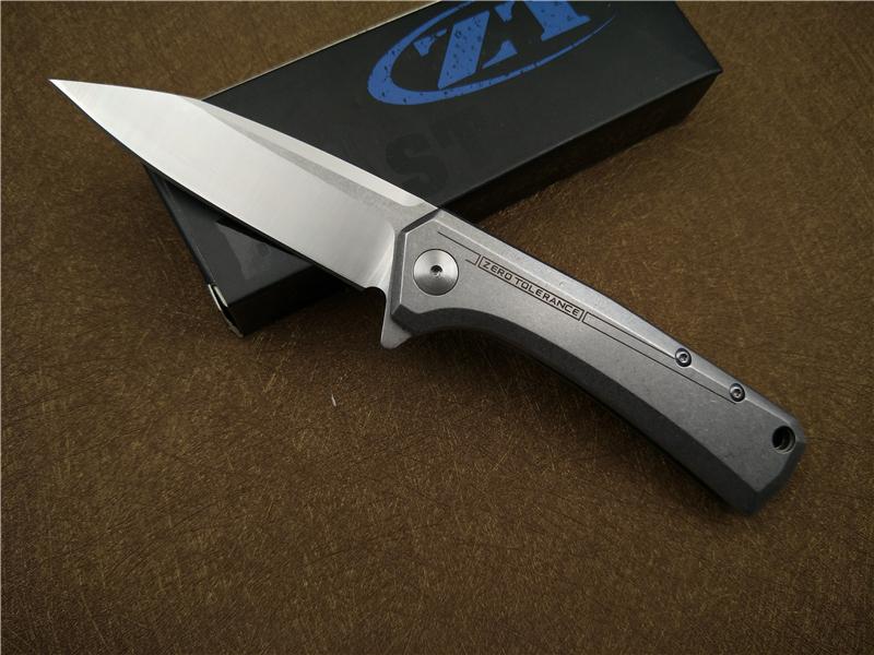 Buy Folding knife D2 blade flipper bearing pocket tactical knife outdoor camping survival hand tool EDC knives cheap