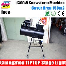 Freeshipping TIPTOP 1300W Super Big Snow Machine Manual Control Cover 150m2 Snow Blowing Projector Flightcase Packing 100V/220V(China (Mainland))