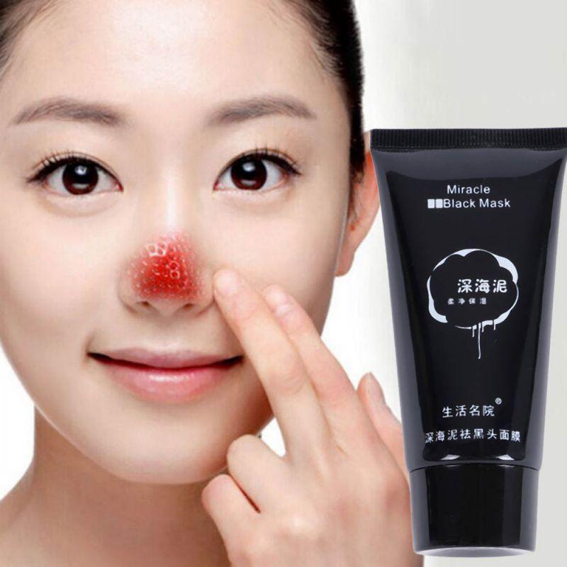New Make Dead Sea Black Mud Mask Collagen Blackhead Peel Tear Pull Masks Deep Cleaning Pores Face Care Tools M3