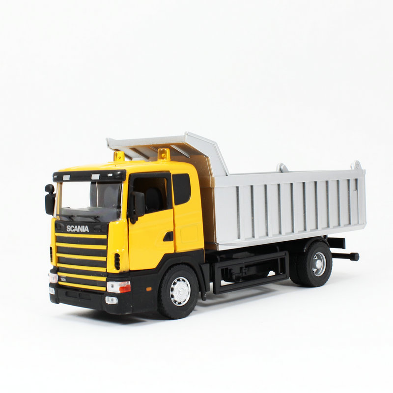 brinquedos 1:43 Dump-car dump truck transport vehicle earth moving alloy model car toys car styling kids toys scale models(China (Mainland))