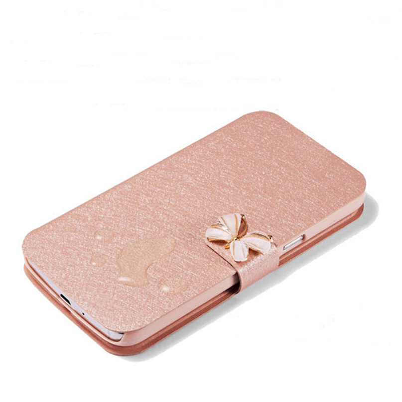 Original PU Leather Flip Mobile Phone Cover Case For Motorola RAZR D3 XT919 XT920 Pouch Wallet Style With Kinds of Diamonds(China (Mainland))