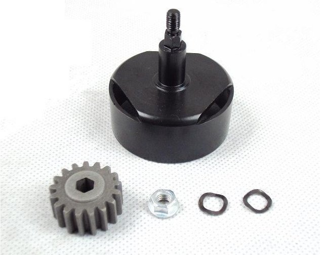 baja clutch cup upgrade kit without screws small teeth