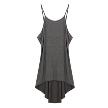 Buy 2017 New Fashion Womens Clothing Dress Female Sexy Halter Backless Loose Solid Gray Summer Dress Sleeveless Beach Dresses Woman for $4.87 in AliExpress store