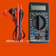 New LCD Digital Multimeter DT830B not include 9V battery Free track number Discount